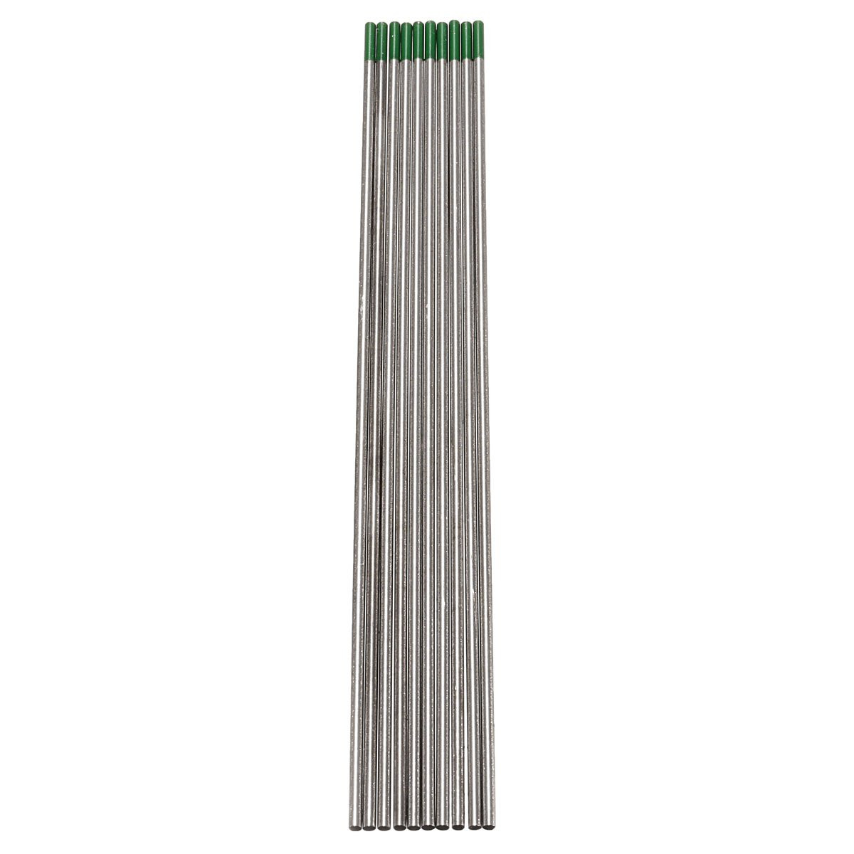 Best Price 10PCS/set 2.4*175mm WP Green Welding Tungsten Electrode Welding Electrodes hi ...