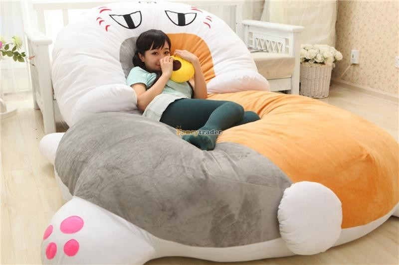 Fancytrader 210cm X 150cm Huge Giant Cute Cat Tatami Bed Carpet Sofa, Gift For Girls, Free Shipping FT90287 (8)