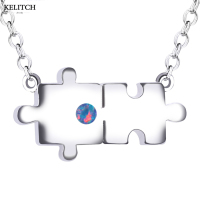 KELITCH Jewelry Charm Necklace Fashion Design Silver Color Femme Bijoux Ladies Collier Collar De Mujer Best
