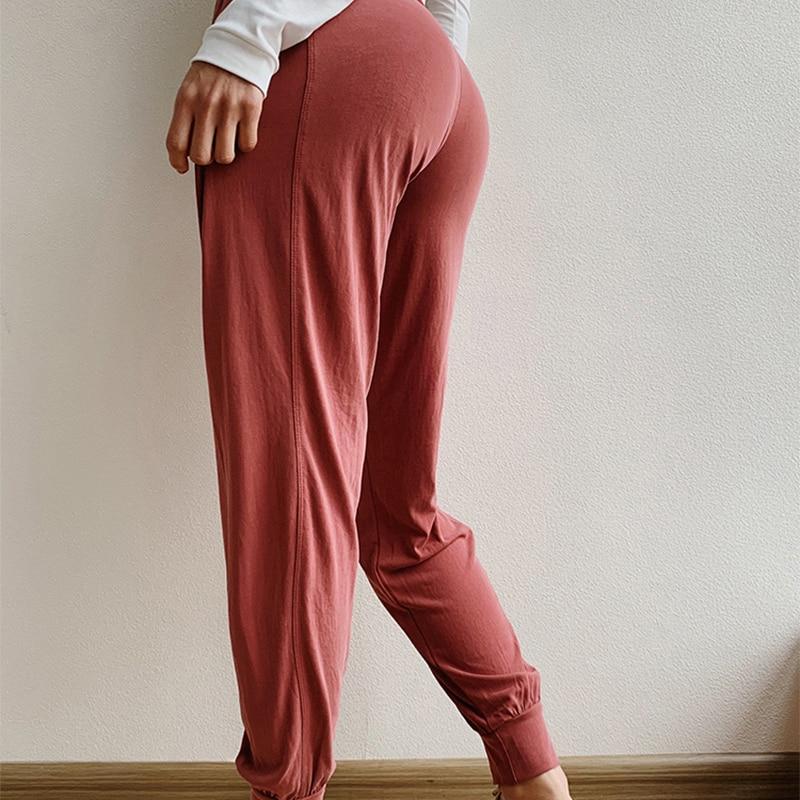Grau Gray Hosen Schnell Taille Legigns Workout rot dunkles Frauen Blue Lässig Elastizität Für Leggings Soisou Trocknend Fitness Fester Lose Hohe 6XZqU