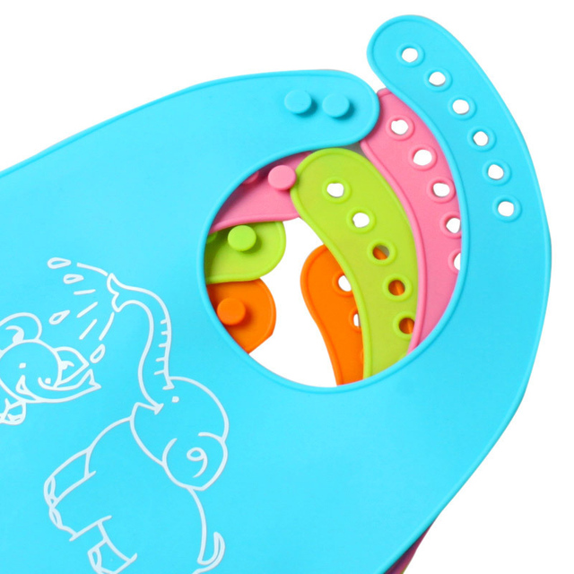 Adjustable Waterproof Baby Bib