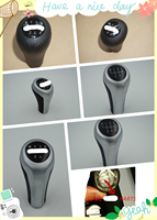 New 5 Speed Manual Mt Gear Silver Shift Knob For Bmw 1 3 5 6 Series