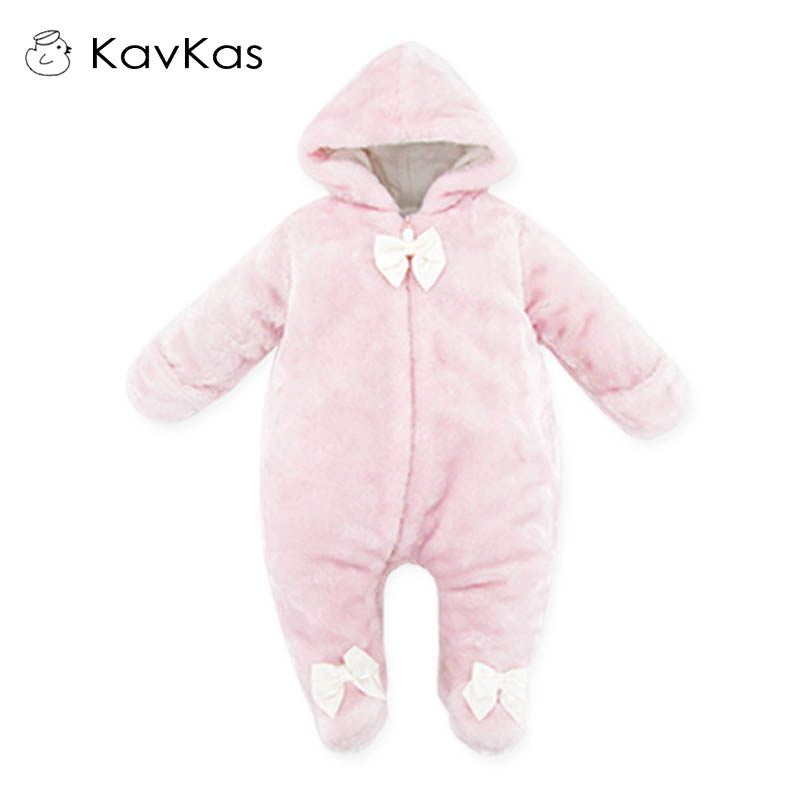 Autumn Winter Baby Thickened Hooded Rompers Baby Girls Clothes Cartoon Animal Jumpsuit Rompers Kids Clothing Pajamas cotton baby rompers set newborn clothes baby clothing boys girls cartoon jumpsuits long sleeve overalls coveralls autumn winter