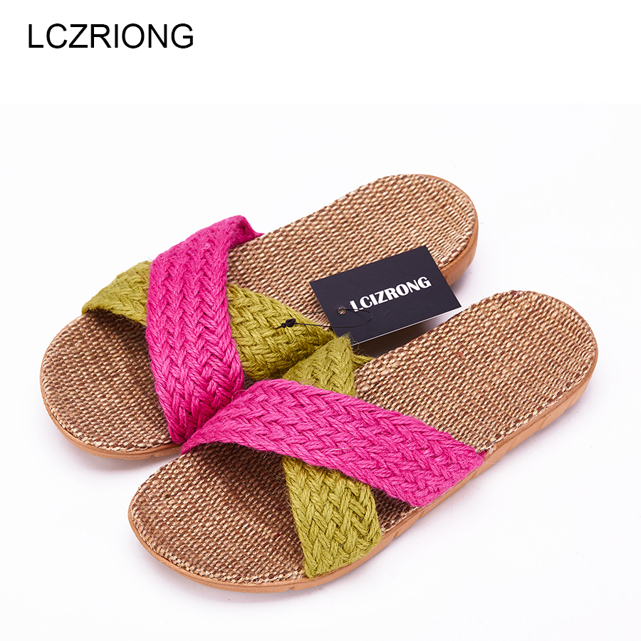 New Summer Bedroom Slipper Women Bathroom Home Slippers Weman 14 Color Casual Plus Size Beach Flat Shoes Ladies House Slippers free shipping candy color women garden shoes breathable women beach shoes hsa21