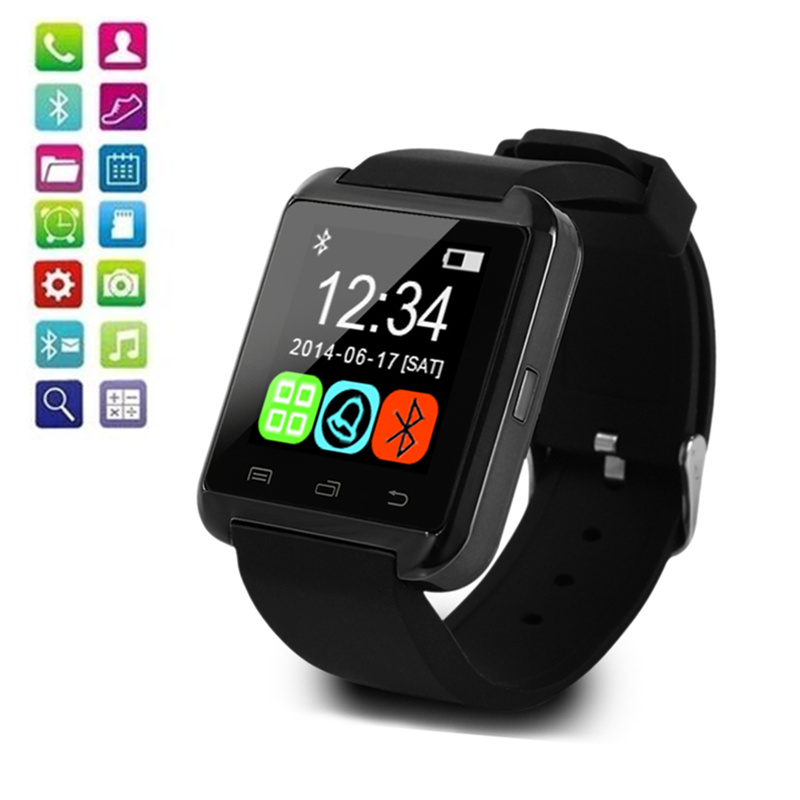U8 Smart Watch Men Women Watches Touch Screen Bluetooth Smart Watches For Android IOS relogio inteligente reloj mujer hombre цены онлайн