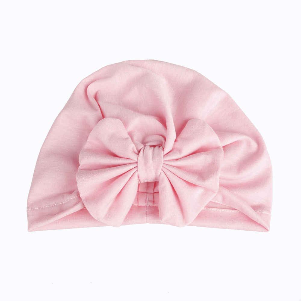 2018ยี่ห้อใหม่เด็กเด็กU Nisexกุทัณฑ์Dotหมวกผ้าโพกหัวผ้าฝ้ายหมวกหมวกฤดูหนาวที่อบอุ่นหมวกหมวกผ้าฝ้ายของแข็งเด็กหมวก