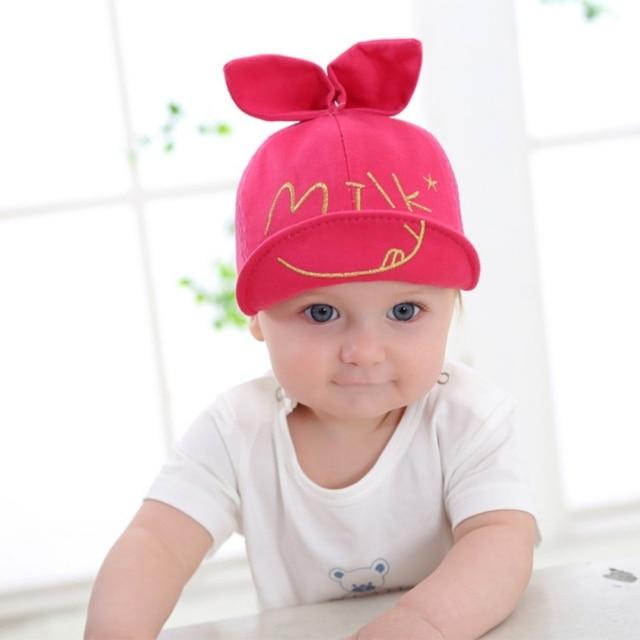 Kids Cap Newborn Toddler Girl Boy Baby Snapback Baseball Cap Cute Little  Ear Hat 5b051f10b39