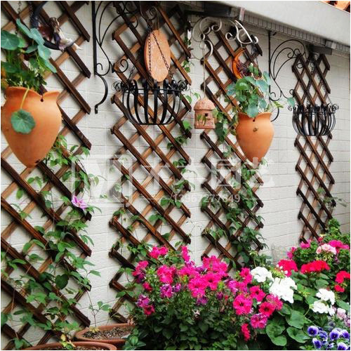 Garden mesh ,Trellis Wood garden edge garden fence fencing for garden border decoration fenc plant stakes wood crafts