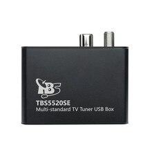 TBS5520se DVB-T2/T/C/S2/S caixa de TV digital ISDB-T Multi-padrão universal para PC