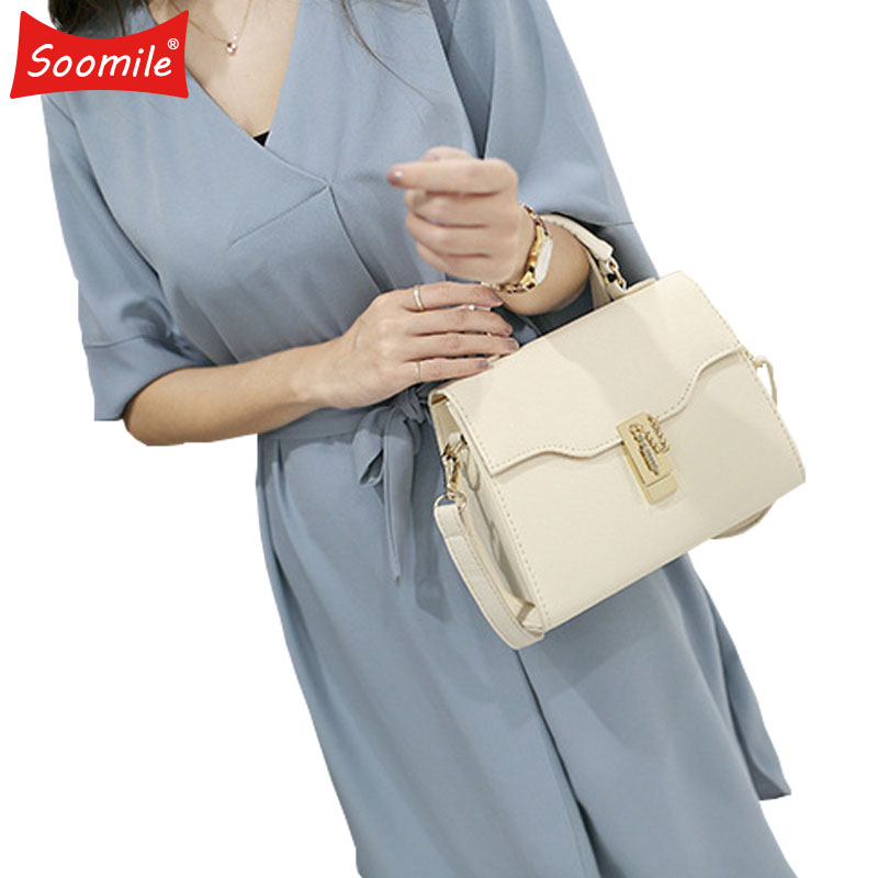 Soomile Korean Version 2018 New Female Diagonal Portable Baodan Shoulder Handbags Brand Women Handbag The Fashion Pack Hand Bags