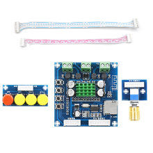 Bluetooth Digital Power Amplifier Board Dual Channel 2*15W DC 12-24V Support TF Card Wireless DIY Audio Amplifiers Kit