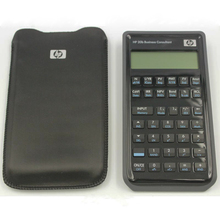 One Piece HP 20b Business Consultant Financial Calculator and Bank Property Calculator