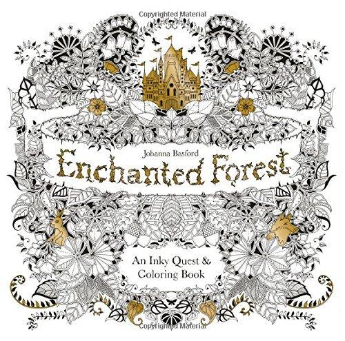 Us 15 99 Original English Enchanted Forest Secret Garden Coloring Book Adult Children Relieve Stress Graffiti Painting Drawing Book Di Buku Dari