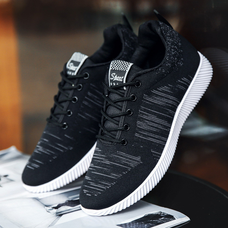 QIYHONG Men's Casual Shoes Sneakers Men Comfortable Outdoor Shoes Tenis Masculino Newest Male Breathable Footwear for Men