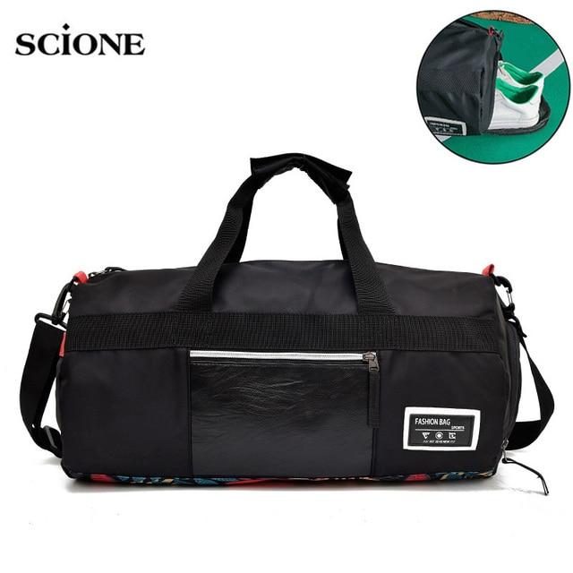 Wet Dry Yoga Fitness Gym Bag Sac De Sport Bags Handbags Swimming For