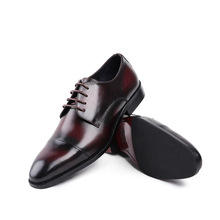 QYFCIOUFU Summer Fashion British Style Formal Shoes Men Dress Loafers Genuine Leather Men's Slip-on Shoes Handmade Office Shoes
