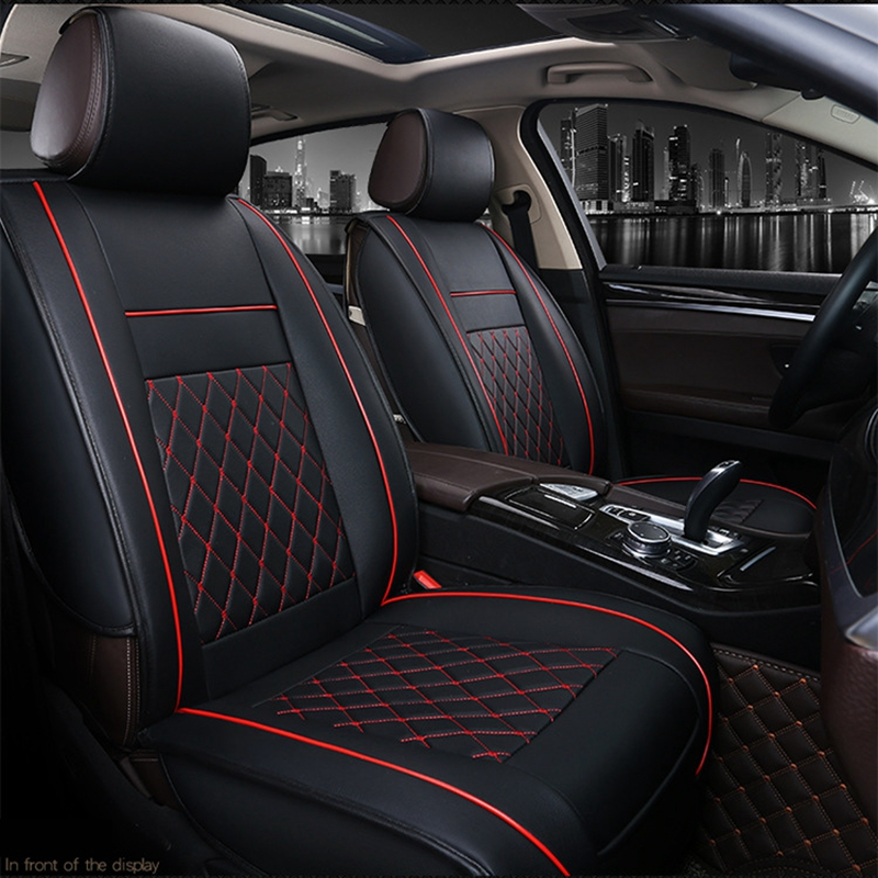 HD WATERPROOF SINGLE FRONT BLACK SEAT COVER  for JAGUAR E PACE 17-ON