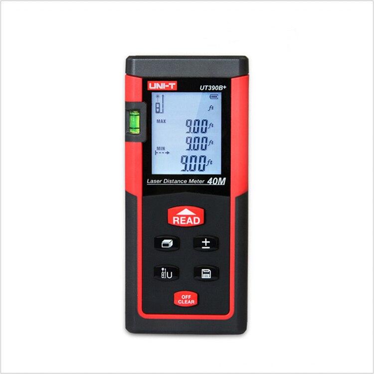 High Precision Digital Laser Distance Meter UNI-T UT390B+ 40M Bubble Level Rangefinder Range Finder Tape Measure Area/Volume ман 40 390 бу продам