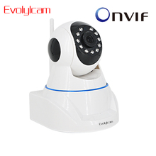 Evolylcam HD 720 P 1MP H.265 безопасности AP IP Камера аудио P2P ONVIF Micro SD карта Пан ИК Wi-Fi Беспроводной сети сигнализации робот Мониторы