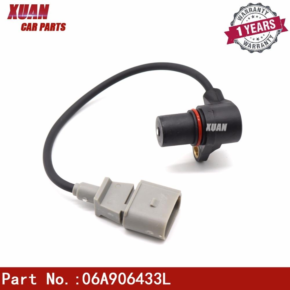 Engine Crankshaft Position Sensor for VW Jetta Passat Audi A3 A4 A6 06C905163B