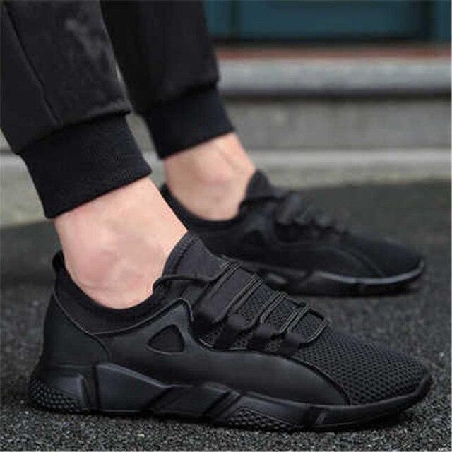 7466b3835 Мужские кроссовки 2018 кроссовки летние удобные дышащие мужская спортивная  обувь Легкие уличные кроссовки мужские спортивные туфли