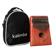 Thumb piano Carinba 17 Keys finger piano beginners portable musical instrument Kalimba finger piano
