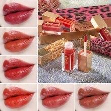 Matte Liquid Lipstick Makeup High Pigment Lip Tint Gloss Long Lasting Moisturizer Lip Gloss недорого