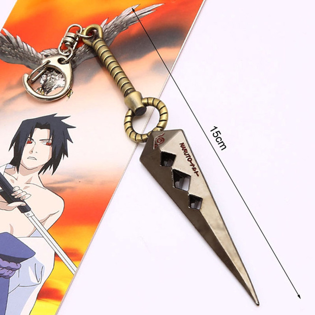 Naruto Metal Toy Sworde Ninja Knife Cosplay Weapon