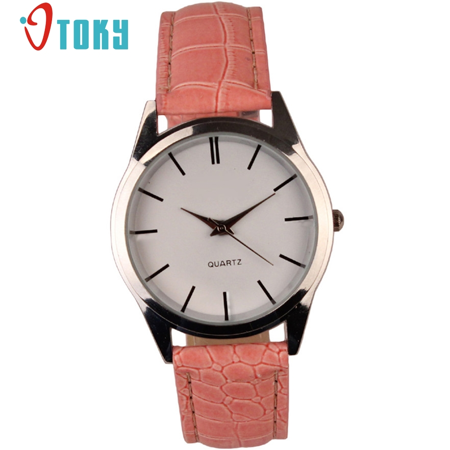 OTOKY Fashion Casual Mens Watches Top Brand Luxury Leather Business Quartz-Watch Men Wristwatch Relogio Masculino #40 Gift 1pc reisenthel сумка allrounder l dots e5x dkcr