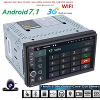 2G RAM Android 7 1 Auto Radio Quad Core 7Inch 2DIN Universal Car NO DVD Player
