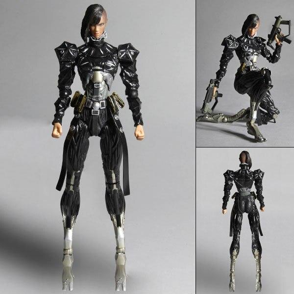 цены Free Shipping Deus EX: Human Revolution Elena Fedorova PVC Action Figures Boys Toys Doll 18cm