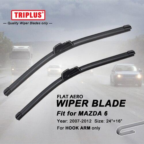mazda 6 2012 windshield wiper size