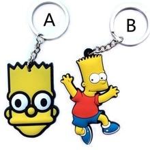 Барт Симпсон ПВХ пластик calenda брелки assassins creed оригиналы брелки для сумки брелок mercedes