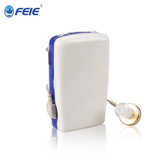 Feie Hearing Aid Center Amplificateur de son aid auditive Pocket Voice Amplifier Hearing Aid S-6A