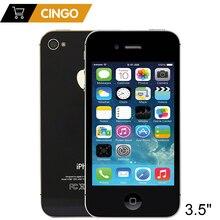 Original Unlocked Apple iphone 4S 8GB 16GB 32GB 64GB Dual core Mobile phone GPS Wi-Fi 8.0MP 3.5