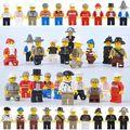 20 шт./лот diy строительные блоки собраны 20 насосной музыкальную карьеру мультфильм куклы пластиковые игрушки совместимость legoe