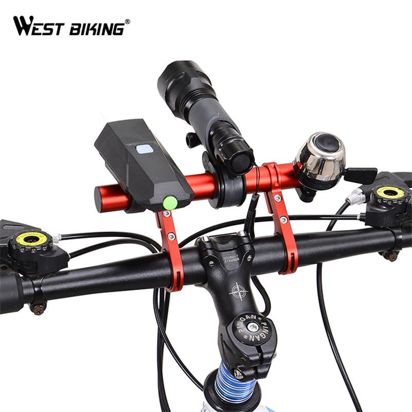 West Biking Double Mountain Bike Handlebar Extender 25 4 31 8mm