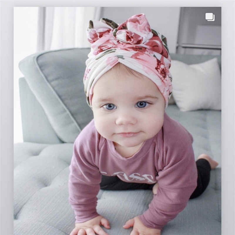 Neugeborenes Kleinkind Baby Turban Beanie Hut Jungen Mädchen Indien Mong #v