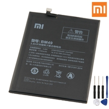 Xiao Mi Original BM49 Battery For Xiaomi Max BM49 Genuine Replacement Phone Battery 4760mAh With Free Tools все цены