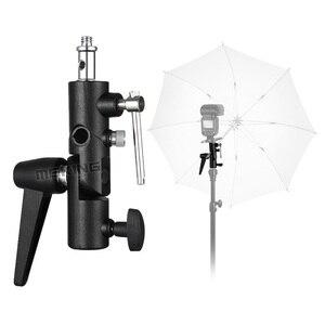 Image 5 - Selens Flash Shoe Paraplu Houder Light Stand Beugel M11 050 Voor Fotografische Foto Studio