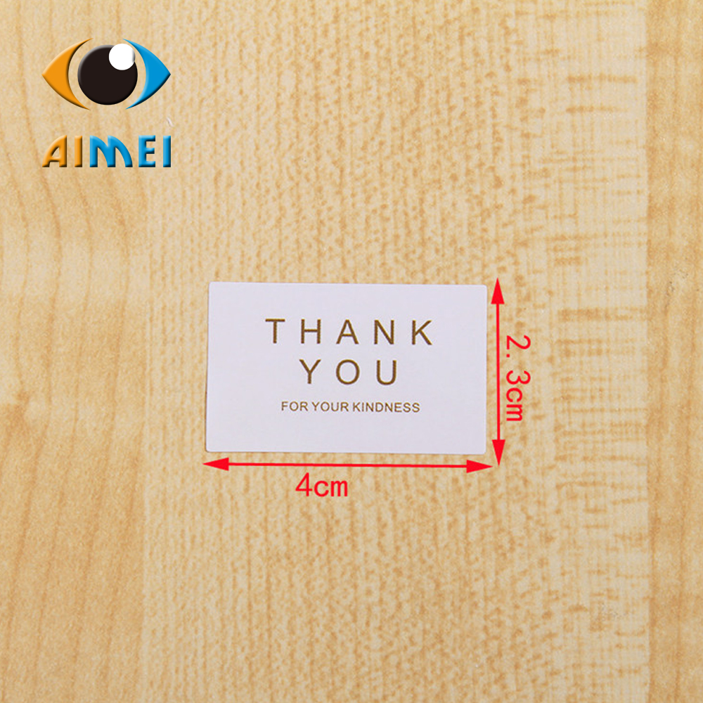 Manufacturers selling the contracted white thank you seal sticker adhesive labels d12 box