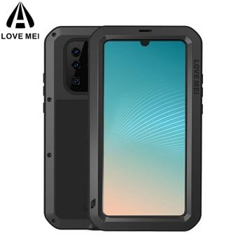 Para Huawei P30 Pro caso MEI Shock la suciedad prueba resistente al agua armadura de Metal cubierta del teléfono para Huawei P30 lite P30
