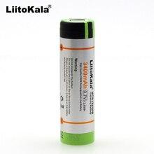 6 pcs. New liitokala original 18650 ncr18650b 3400 mAh lithium rechargeable battery