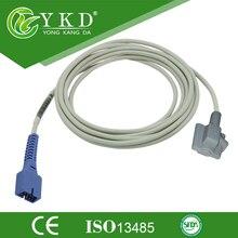 Nellcor SpO2 датчик для детской мягким наконечником DB9 булавки и 3 м кабель