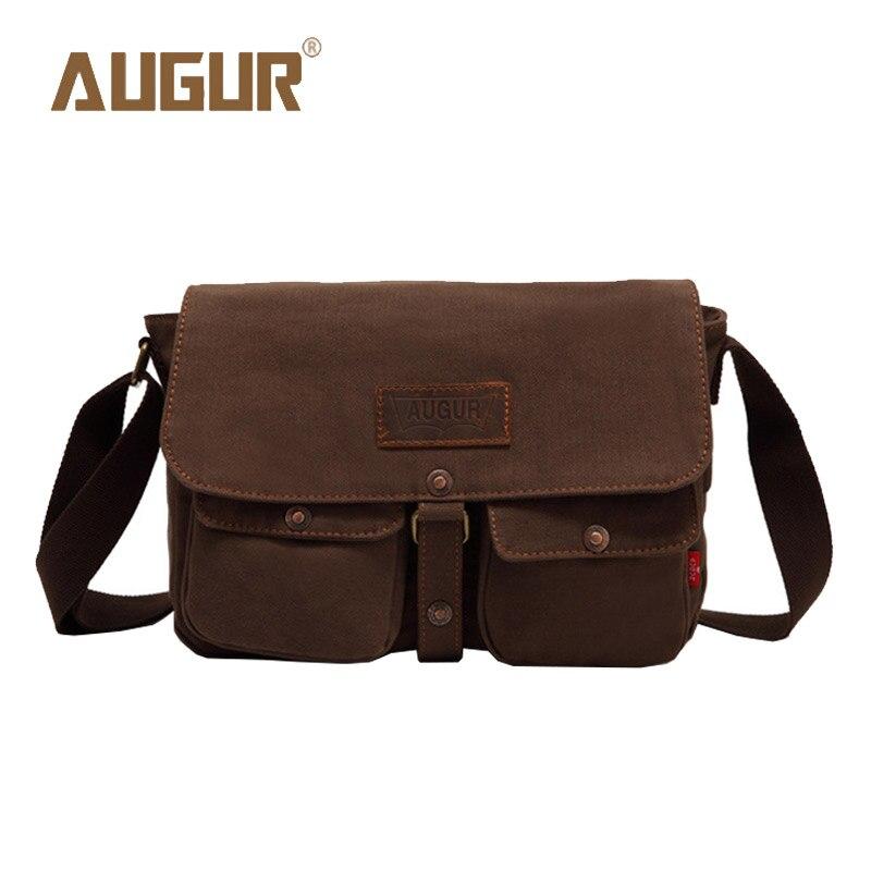 AUGUR Brand New Fashion Luxury Handbags Women Bags Designer Handbag High Quality Canvas Leisure Men Messenger Bags HT100267