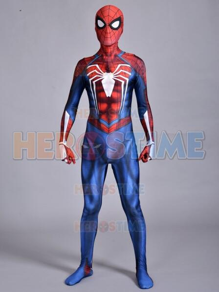 Insomniac Spider-man Costume Spandex Fullbody PS4 Insomniac Games Spiderman  Cosplay Suit Custom Made d002868d2893