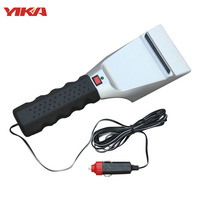 YIKA 2017 Winter New Cigarette Lighter Car Snow Shovel Electric Heated Ice Scraper Use For Car
