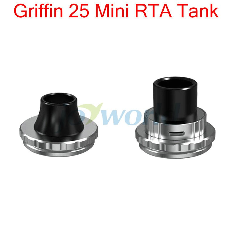 100% Geekvape Griffin 25 Mini RTA 3ML Capacity Top Airflow Improved Velocity Structure Griffin 25 Mini vs Griffin 25 plus RTA YY (11)
