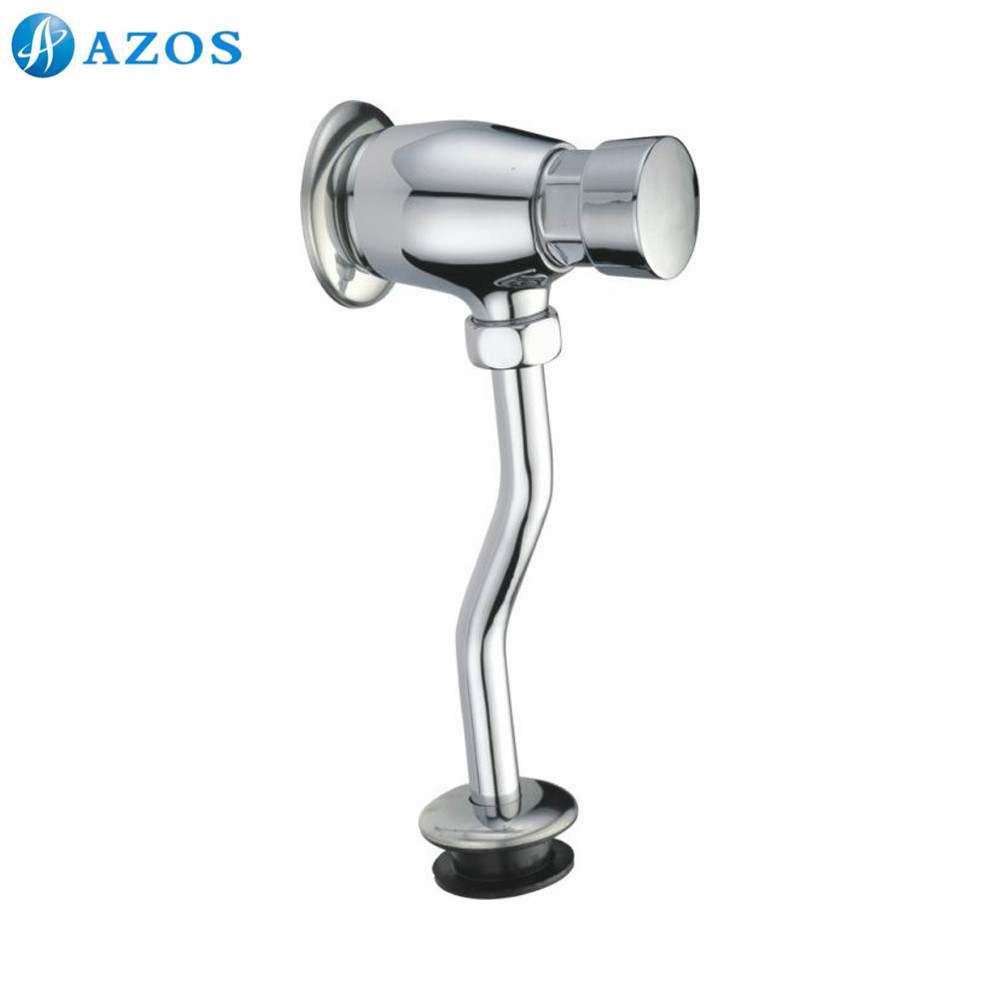 Toilet Delay Angle Valves Urine Flushing Stop Self Closing Wall Mounted Water Pipe Hand Pressing Bathroom Part Furnitures ACA06