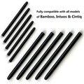 30 Пакетов/серия Графический Рисунок Площадку Стандартный Черный Ручка перья Замена Стилуса Wacom Bamboo Intuos Cintiq Блокнот Для Рисования ручка